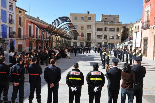 2011_Formación en la Plaza del Ayuntamiento