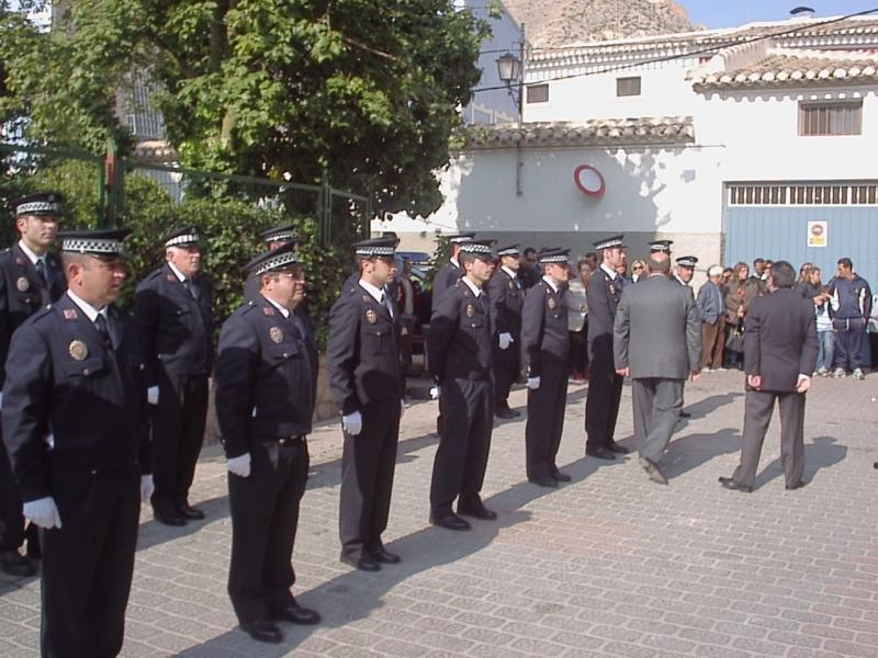 2008_Formación frente al Convento de San Francisco