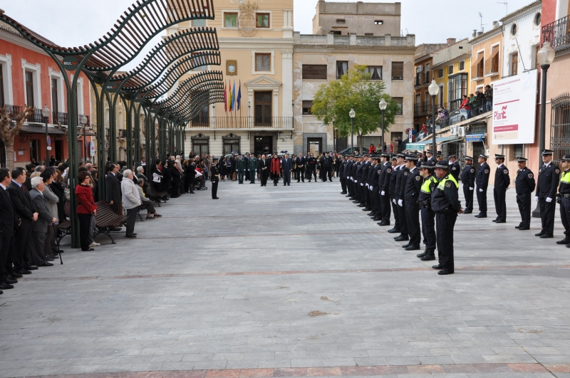 2010_Formación en la Plaza del Ayuntamiento