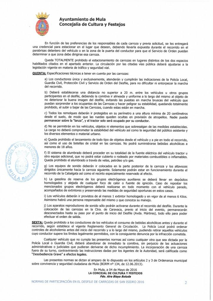 Normativa San Isidro 2016 (2)