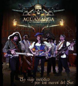 los piratas de aguamarga y el tesoro maldito