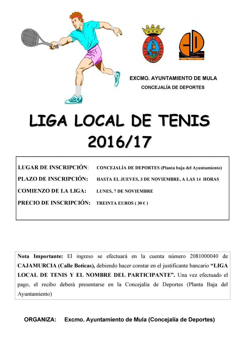 liga local de tenis 2016-17