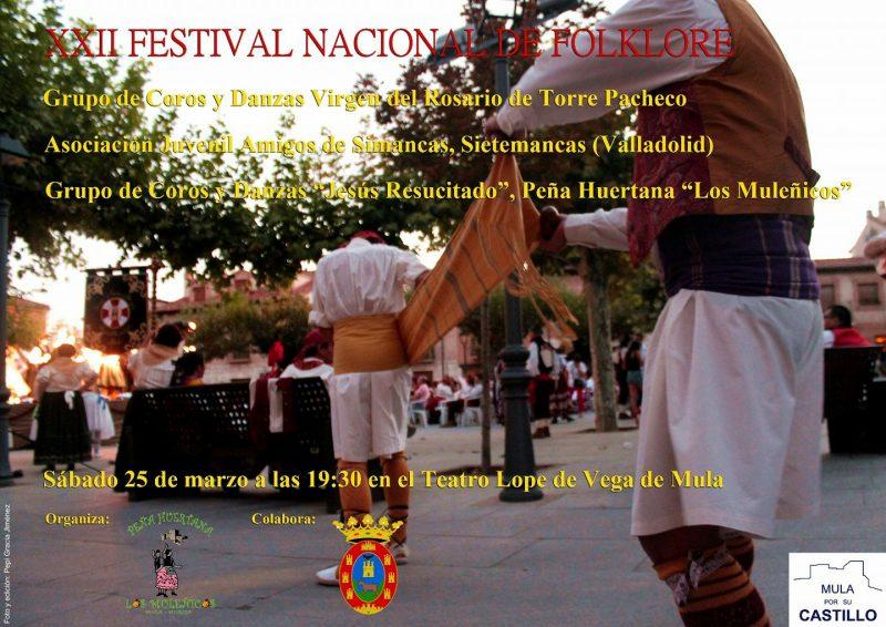 xxii festival nacional de folklore muleñicos 2017