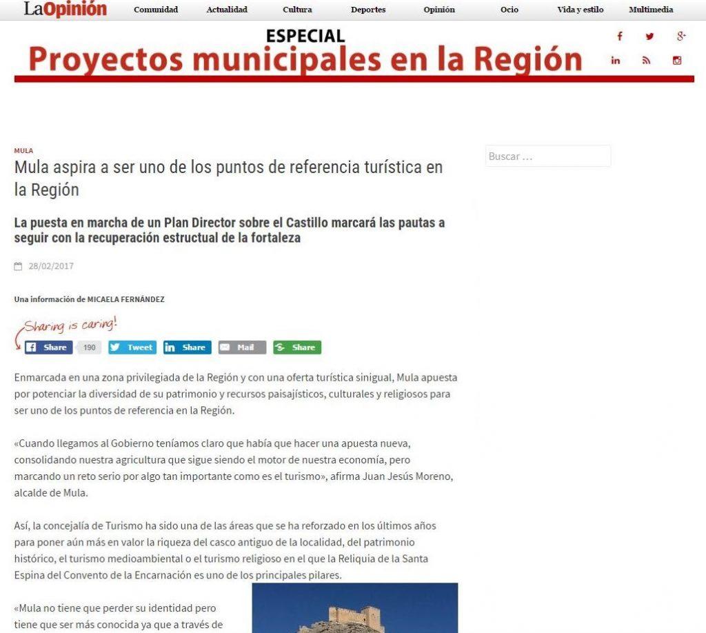 2017-03-01 10_04_00-Mula aspira a ser uno de los puntos de referencia turística en la Región - Proye