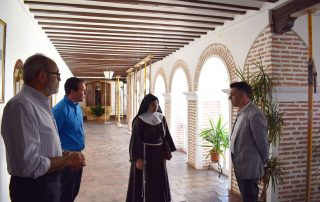 Alcalde y Director General de Bienes Culturales mantienen una reunión en Mula 2