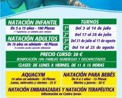 Cartel Natacion verano 2017