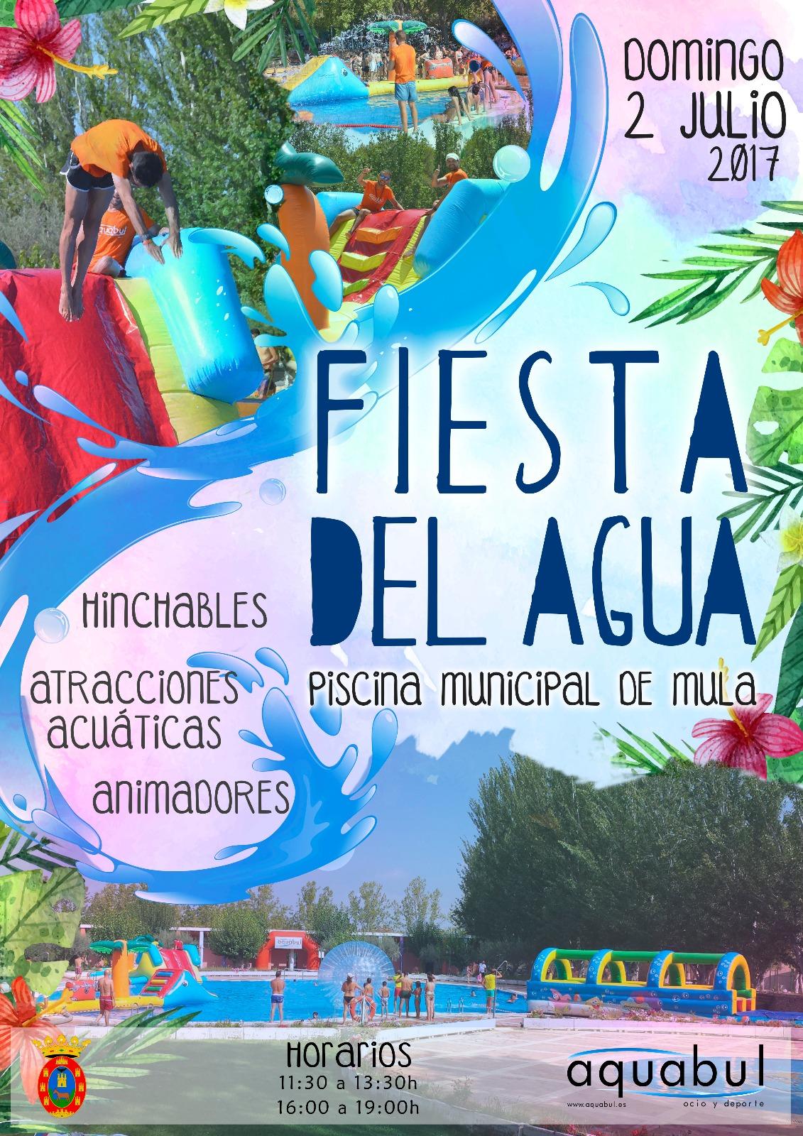 Fiesta del agua en la piscina municipal 2 de julio - Fiesta de piscina ...