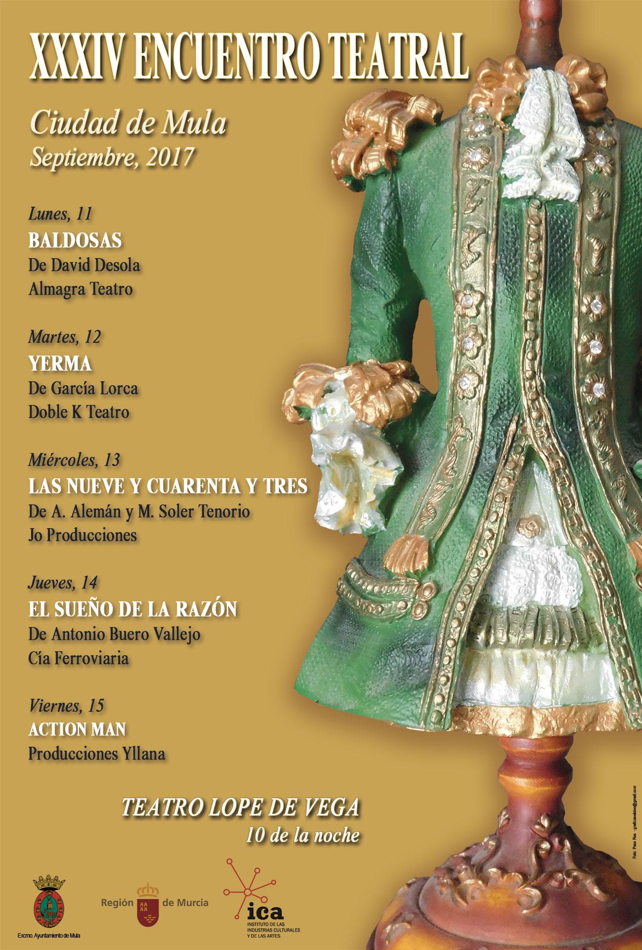 """XXXIV Encuentro Teatral """"Ciudad de Mula"""""""