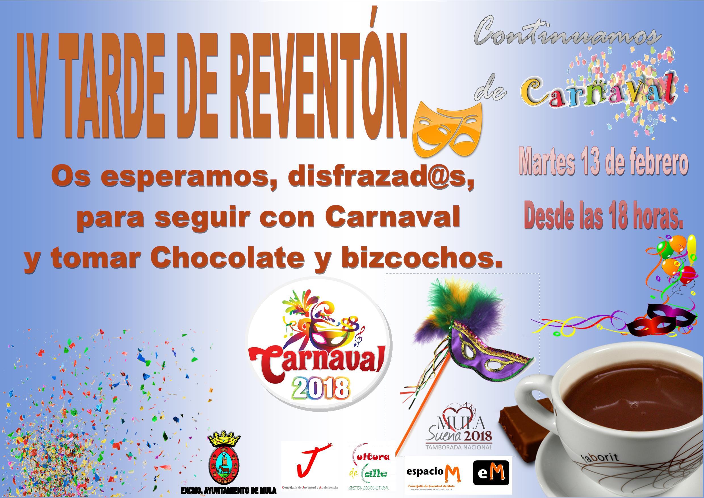 IV Tarde de Reventón en Carnaval  Mula