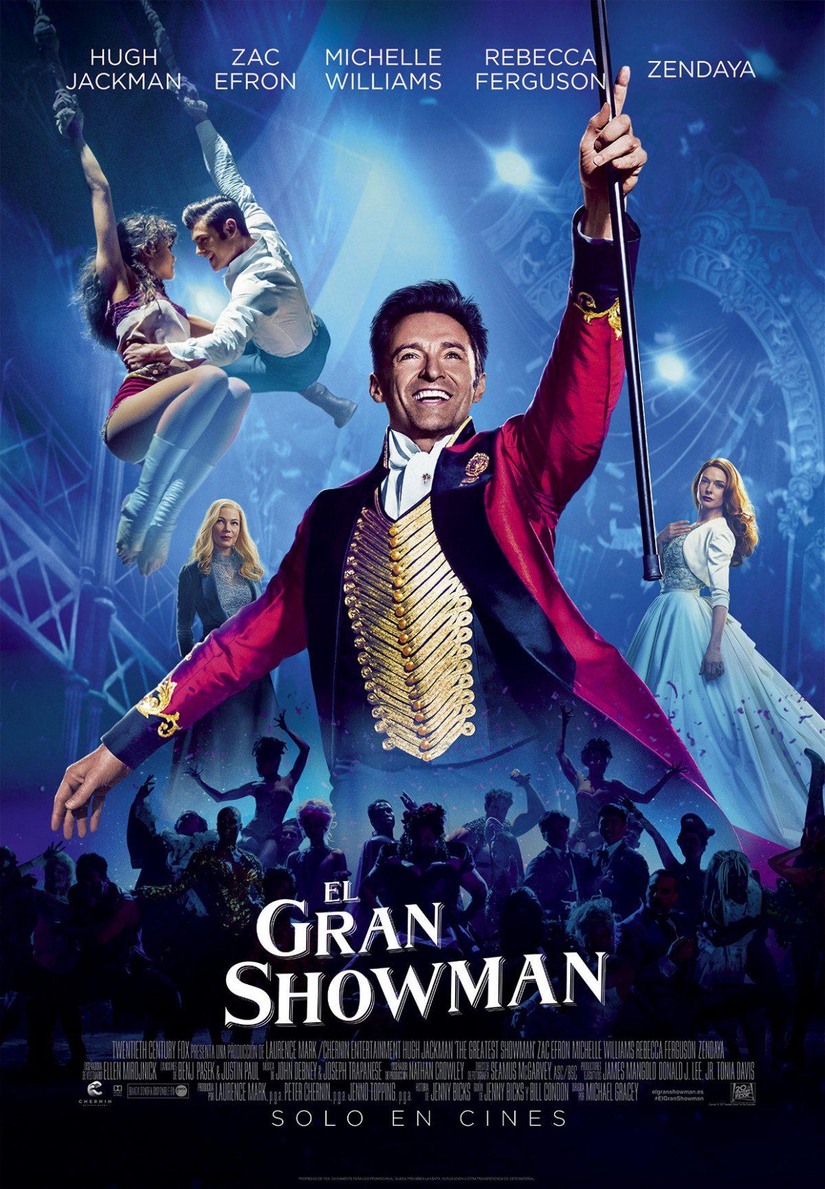 El Gran Showman en mula-teatro lope de vega
