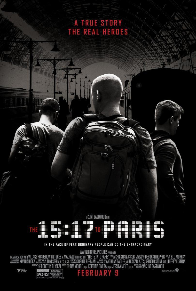 proyección 15:17 Tren a París en mula-teatro lope de vega