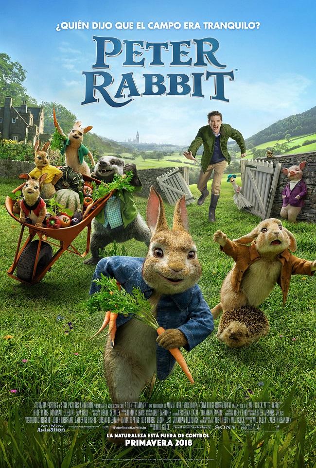 proyección Peter Rabbit en mula-teatro lope de vega