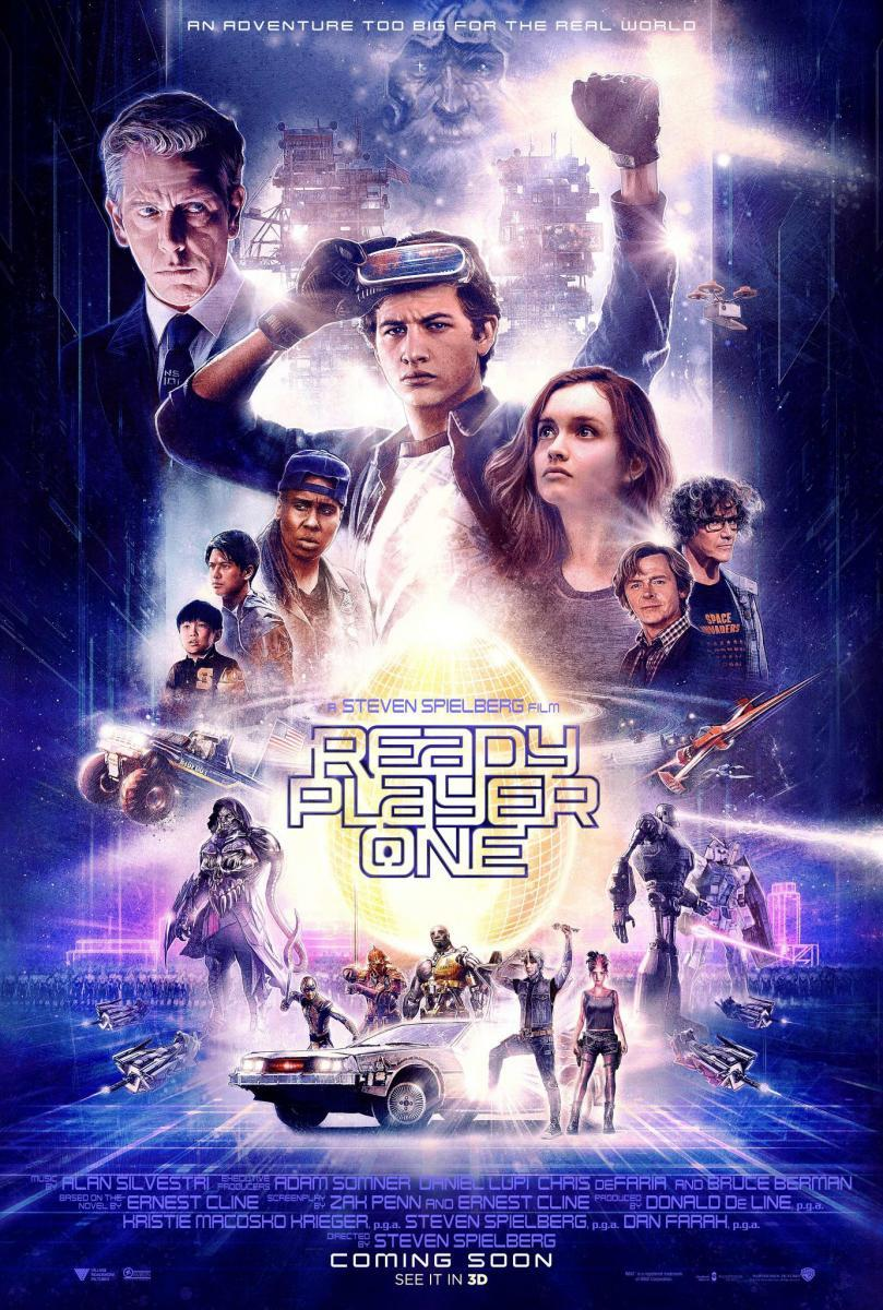 proyección Ready Player One en mula-teatro lope de vega