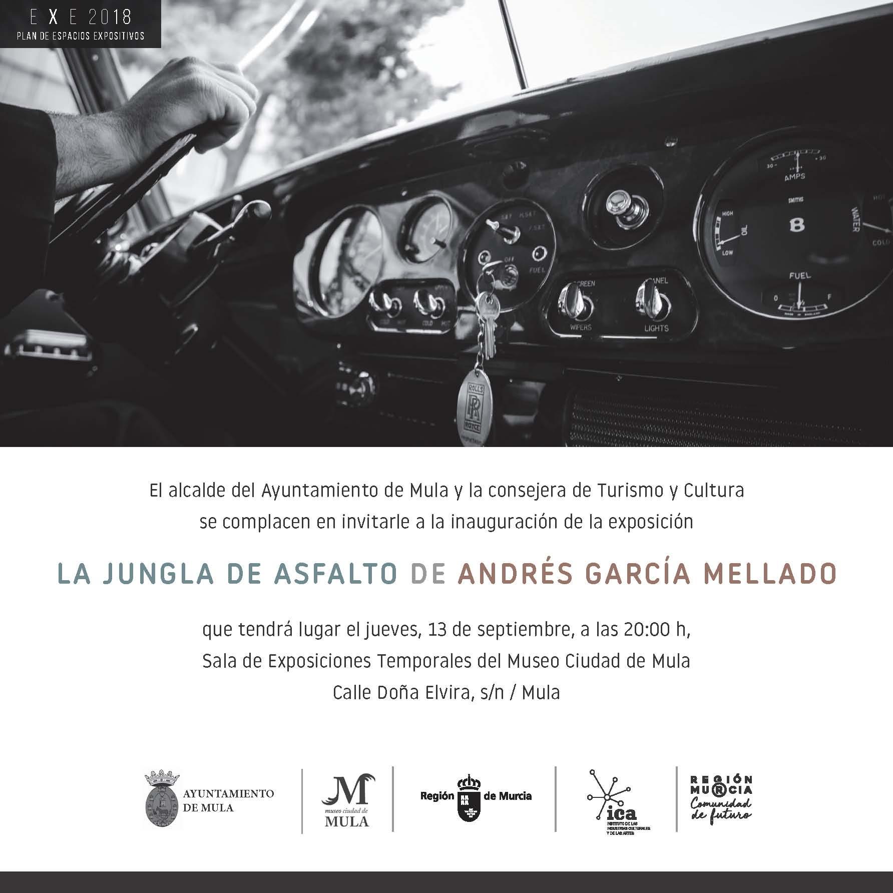invitación Andrés García Mellado en Mula