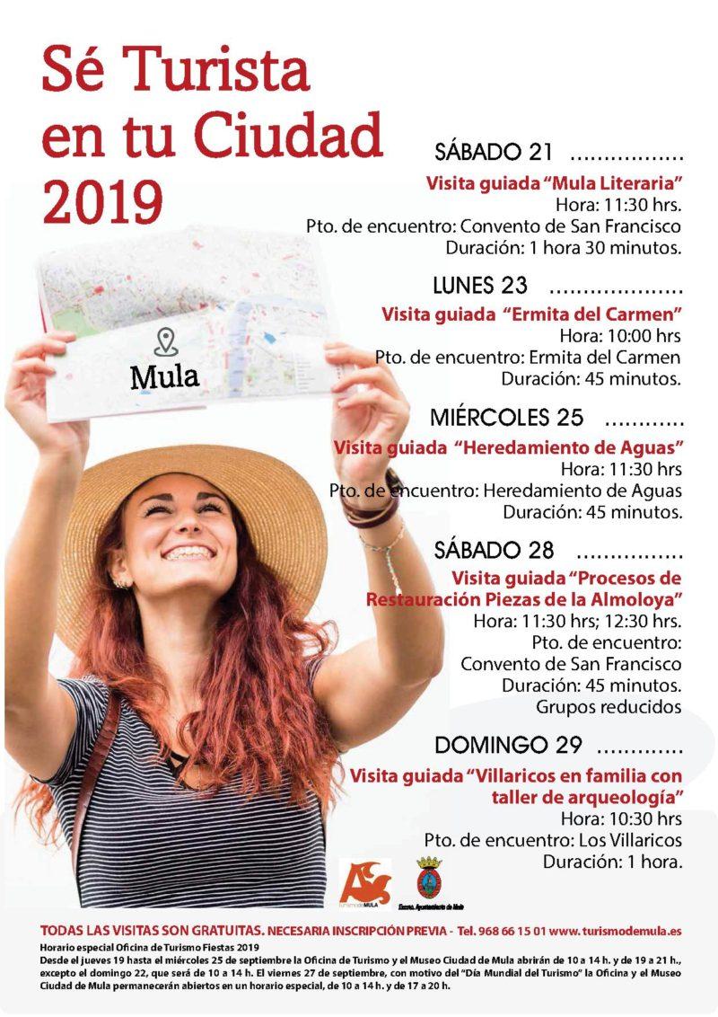 CARTEL SE TURISTA EN TU CIUDAD 2019-1